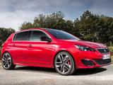 标致2016款308 GTI曝光 搭1.6T发动机