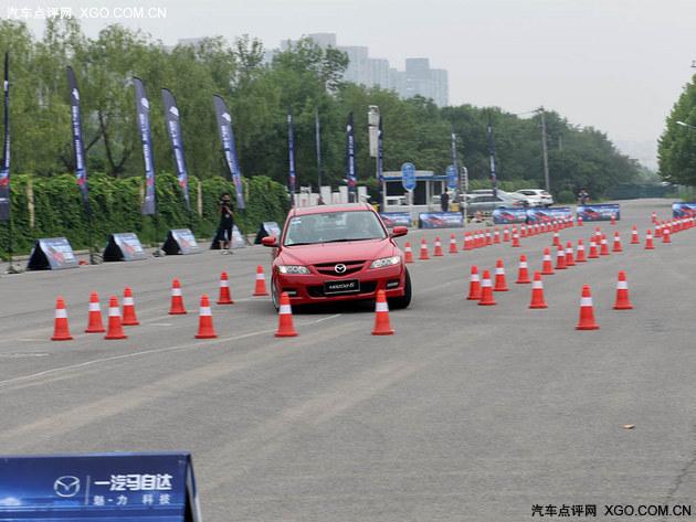 底盘好 车才好 一汽Mazda6底盘体验活动