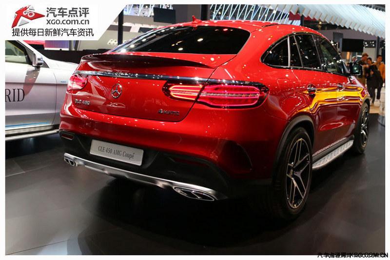【图文】奔驰轿跑SUV GLE Coupe将9月国内