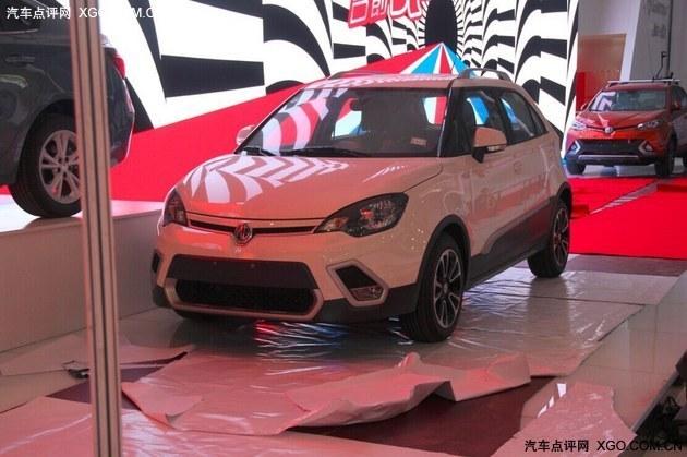 2015成都车展探馆:上汽MG3 SW实车照