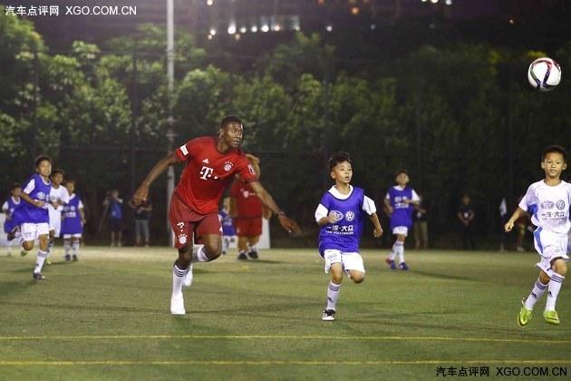 """而对于接下来即将开启的""""一汽-大众青少年足球训练营"""",本次""""拜仁中国"""