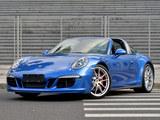 比普通版更快 测保时捷911 Targa 4 GTS