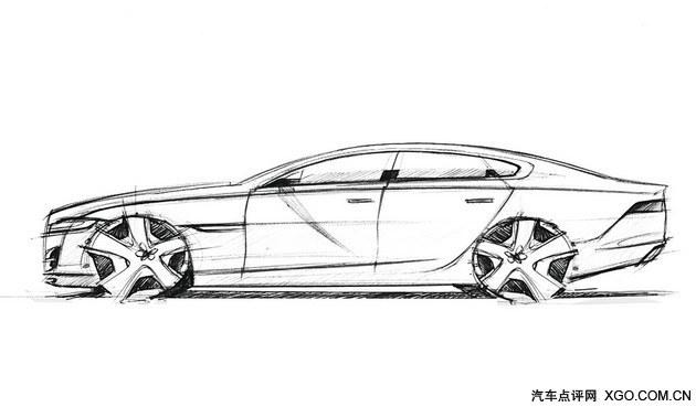 采用溜背造型设计的全新xf侧面轮廓简洁却充满韵味,虽然不像纯种跑车