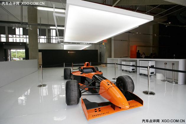 上海国际赛车场F1赛车体验课程正式开课