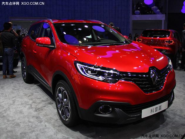 2015广州车展 国产雷诺科雷嘉SUV首发