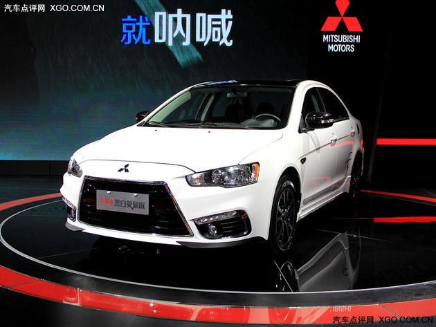2015广州车展 三菱翼神黑白复刻版亮相