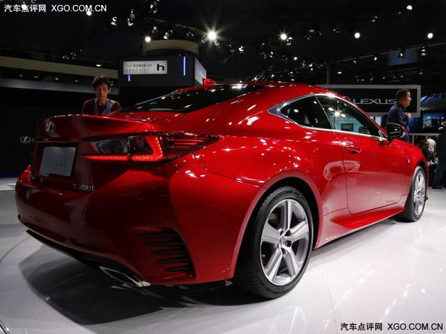 2015广州车展 雷克萨斯RC 200t售48.8万起