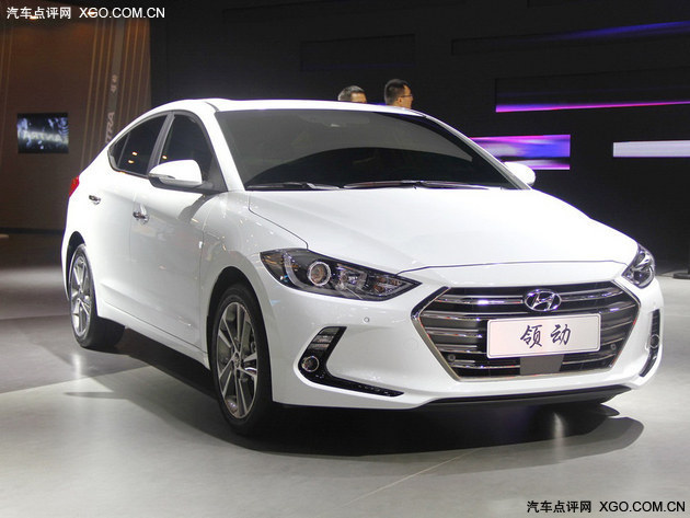 2015广州车展 北京现代领动正式发布