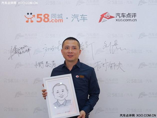 X7表现亮眼 车展专访陆风汽车潘欣欣