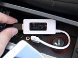 为何无法充电?原车USB口输出电流测试