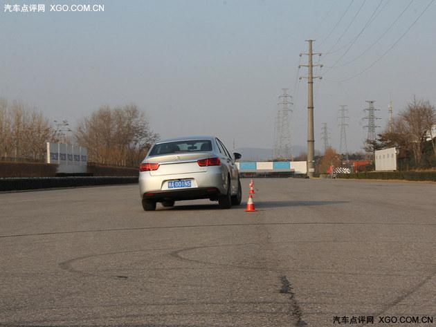 稳定舒适型选手 雪铁龙C4世嘉性能测试
