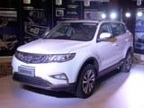 吉利全新SUV博越实车亮相 将3月上市