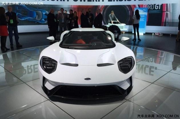 2016北美车展 福特全新GT量产版发布