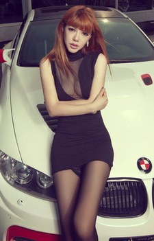 黑与白的诱惑 宝马宽体M3