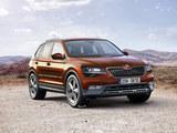 斯柯达全新7座SUV预告图 有望3月首发