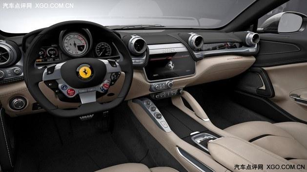 法拉利GTC4Lusso首发 搭V12自吸发动机