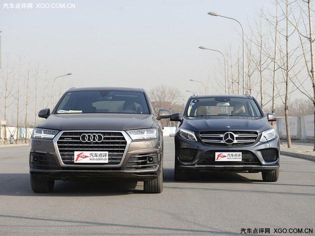 换代VS改款 对比试驾新奥迪Q7/奔驰GLE