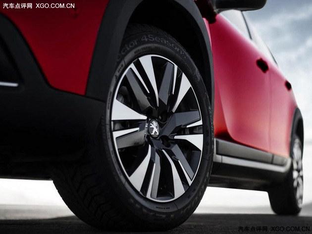 标致新款2008官图发布 日内瓦车展首发
