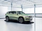 斯柯达发布VISION S概念车 定位中型SUV