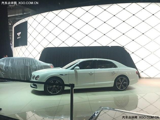 2016日内瓦车展探馆 宾利飞驰V8 S曝光