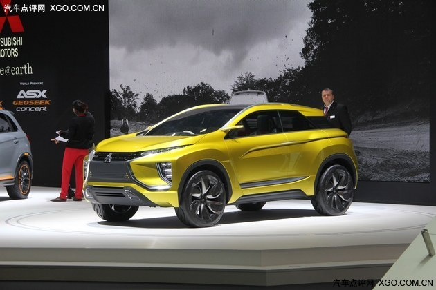 2016日内瓦车展 三菱eX concept概念车