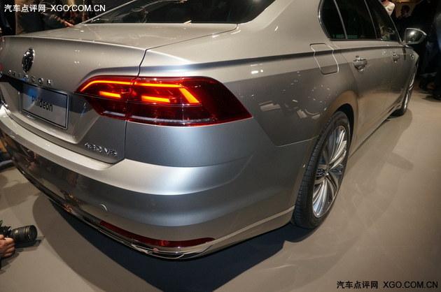 2016日内瓦车展 上汽大众PHIDEON亮相