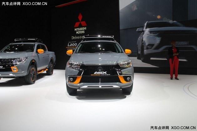 2016日内瓦车展 三菱两款新概念车首发