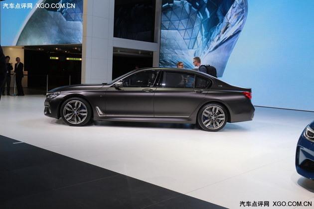 2016日内瓦车展 宝马M760Li xDrive亮相