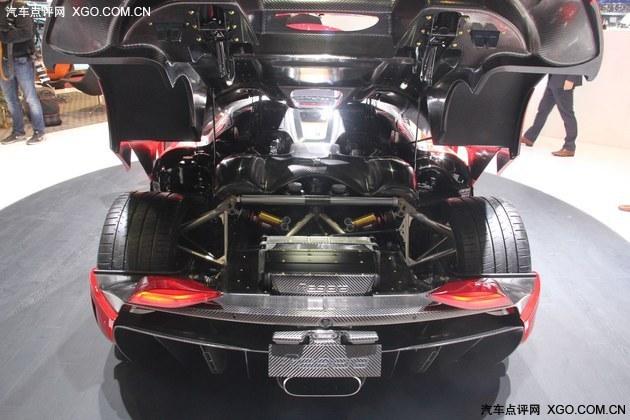 2016日内瓦车展 科尼塞克Regera量产版