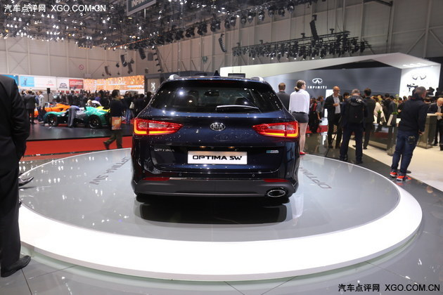 2016日内瓦车展 起亚K5旅行版正式亮相