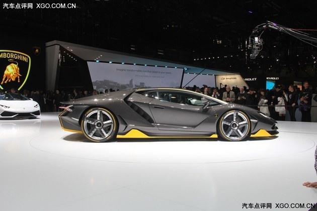 2016日内瓦车展 兰博基尼Centenario