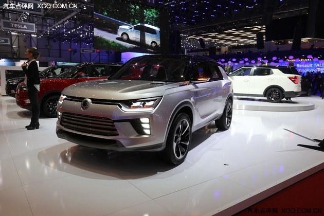 2016日内瓦车展 双龙SIV-2概念车亮相