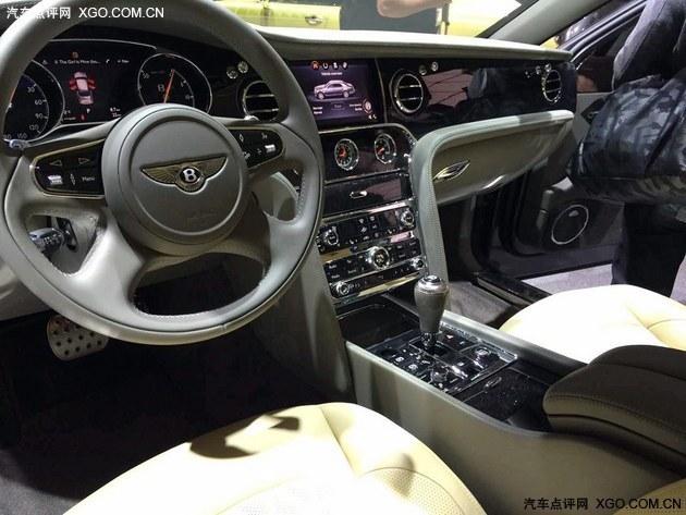 2016日内瓦车展 宾利新款慕尚正式发布