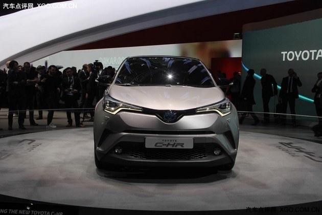 2016日内瓦车展 丰田C-HR量产版首发