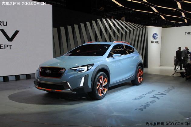 2016日内瓦车展 斯巴鲁XV Concept首发