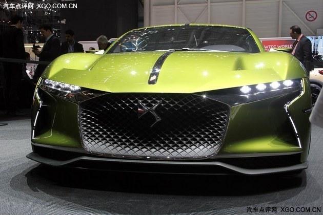 2016日内瓦车展 DS E-Tense概念车首发