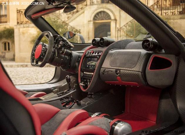 2016日内瓦车展 帕加尼Huayra BC发布