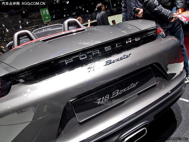 2016日内瓦车展实拍 保时捷718 Boxster