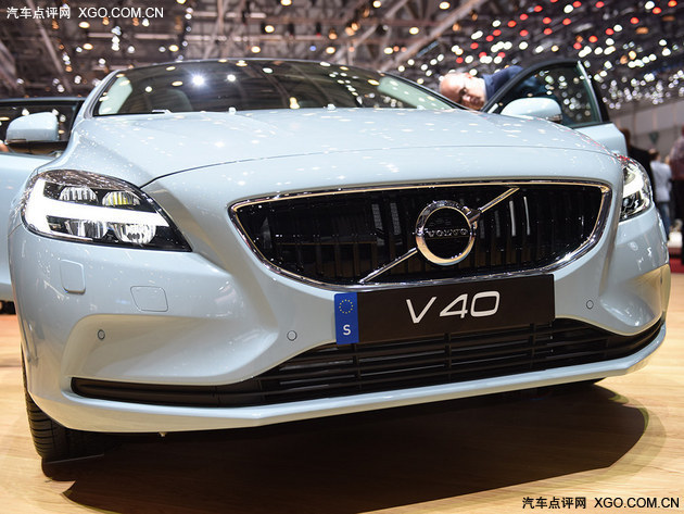 2016日内瓦车展实拍:沃尔沃新款V40