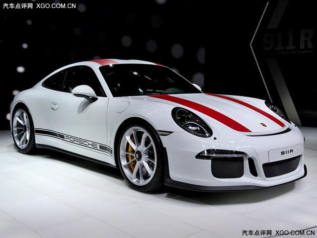 2016日内瓦车展实拍:全新保时捷911 R