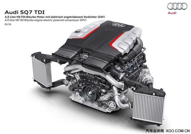 奥迪新SQ7首发 搭4.0L V8电子涡轮动力