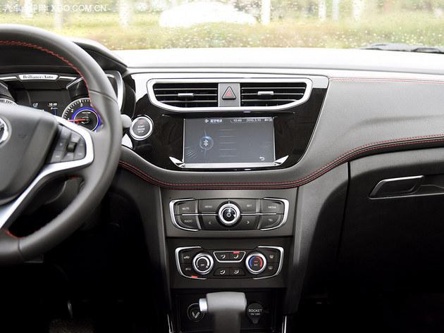 配置升级 动力不变 试驾华晨中华V3二代高清图片