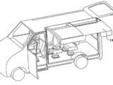 现代申请鸥翼车门专利 用于房车露营