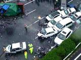 车闻周道:沪蓉高速数十辆车扎堆追尾