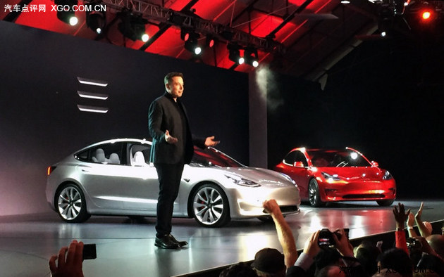 再创奇迹 特斯拉Model 3达订单27万辆