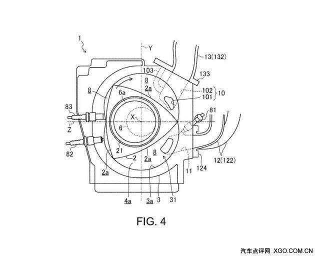 马自达新转子发动机设计图曝光 更高效