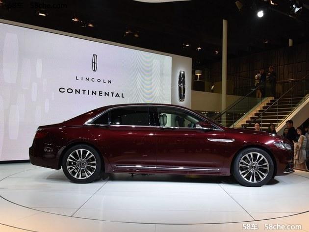2016北京车展 林肯Continental新车实拍