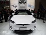 2016北京车展 特斯拉MODEL X实拍解析