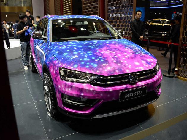 众泰SR7星光版将于6月上市 或售16万起