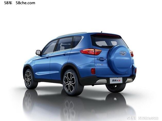 凯翼X3将于6月20日上市 预计推9款车型